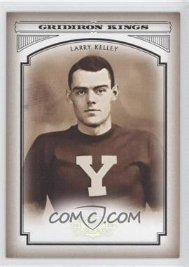 2006 Donruss Threads - College Gridiron Kings - Silver #CGK-40 - Larry Kelley /250