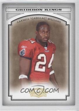 "2006 Donruss Threads - Pro Gridiron Kings - Gold #PGK-5 - Carnell ""Cadillac"" Williams /100"