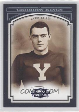 2006 Donruss Threads College Gridiron Kings Blue Framed #CGK-40 - Larry Kelley /50