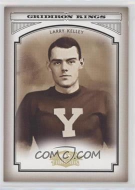 2006 Donruss Threads College Gridiron Kings Gold #CGK-40 - Larry Kelley /100