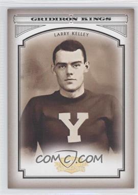 2006 Donruss Threads College Gridiron Kings Gold #CGK-40 - Larry Kelley /100