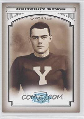 2006 Donruss Threads College Gridiron Kings Platinum #CGK-40 - Larry Kelley /25
