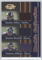 Brandon Marshall, Santonio Holmes, Demetrius Williams /500
