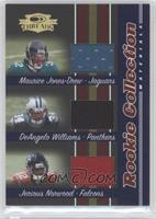 Maurice Jones-Drew, DeAngelo Williams, Jerious Norwood /500