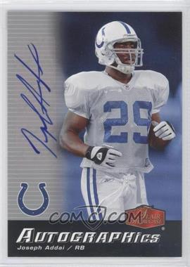 2006 Flair Showcase [???] #AU-JA - Joseph Addai