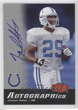 2006 Flair Showcase Autographics #AU-JA - Joseph Addai