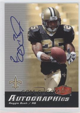 2006 Flair Showcase Autographics #AU-RB - Reggie Bush
