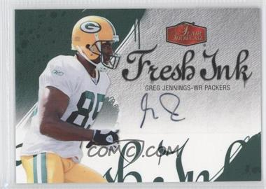 2006 Flair Showcase Fresh Ink #FI-GJ - Greg Jennings