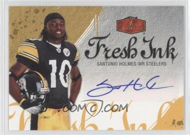 2006 Flair Showcase Fresh Ink #FI-SH - Santonio Holmes