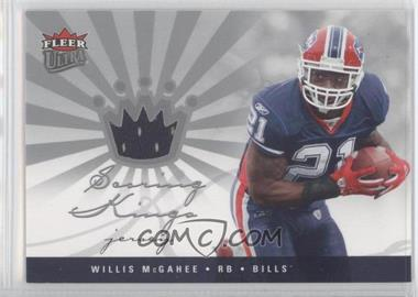 2006 Fleer Ultra Scoring Kings Jersey [Memorabilia] #SK-WM - Willis McGahee