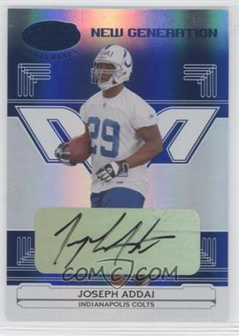 2006 Leaf Certified Materials Mirror Blue Signatures [Autographed] #153 - Joseph Addai /75