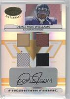 Demetrius Williams /25