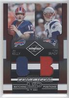 Jim Kelly, Tom Brady /100