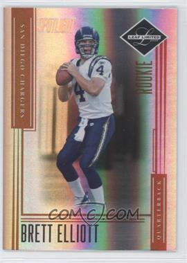 2006 Leaf Limited Bronze Spotlight #240 - Brett Elliott /50