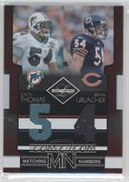 Brian Urlacher, Zach Thomas /100