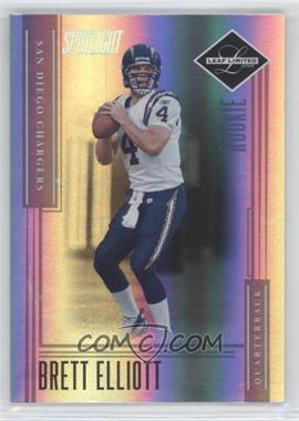2006 Leaf Limited Silver Spotlight #240 - Brett Elliott /25