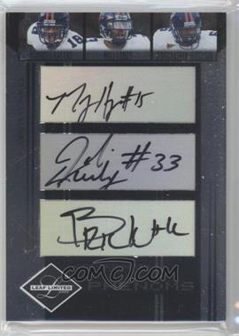 2006 Leaf Limited #304 - Phenoms Trios - Marques Hagans, Wali Lundy, D'Brickashaw Ferguson /100