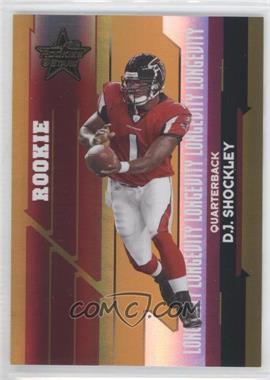 2006 Leaf Rookies & Stars - [Base] - Longevity Parallel Gold #206 - D.J. Shockley /25