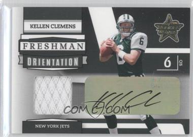2006 Leaf Rookies & Stars Freshman Orientation Materials Signatures [Autographed] #FO-20 - Kellen Clemens /10