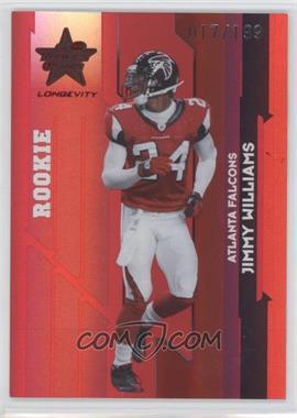 2006 Leaf Rookies & Stars Longevity - [Base] - Ruby #182 - Jimmy F. Williams /199