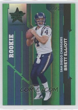 2006 Leaf Rookies & Stars Longevity Emerald #198 - Brett Elliott /29