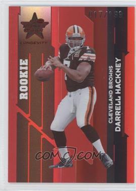 2006 Leaf Rookies & Stars Longevity Ruby #146 - Darrell Hackney /199