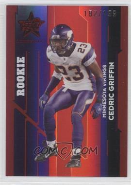 2006 Leaf Rookies & Stars Longevity Ruby #183 - Cedric Griffin /199