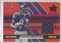 Demetrius Williams /499