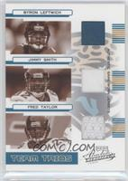 Jimmy Smith, Fred Taylor, Byron Leftwich /100