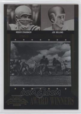 2006 Playoff Contenders - Award Winners #AW-39 - Joe Bellino, Roger Staubach /1000