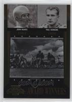 John Lattner, John Huarte, John Lujack, Paul Hornung /1000