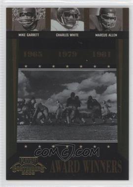 2006 Playoff Contenders - Award Winners #AW-44 - Charles White, Marcus Allen, Mike Garrett /1000