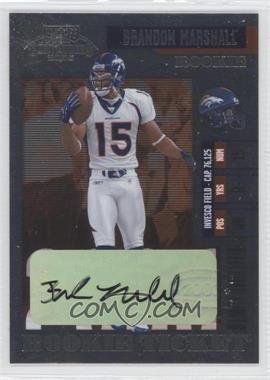 2006 Playoff Contenders - [Base] #147 - Brandon Marshall