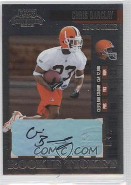 2006 Playoff Contenders - [Base] #175 - Chris Barclay