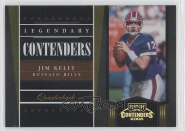 2006 Playoff Contenders - Legendary Contenders - Gold #LC-18 - Jim Kelly /250