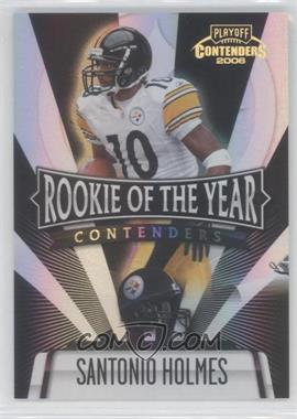 2006 Playoff Contenders - Rookie of the Year Contenders - Black #ROY-4 - Santonio Holmes /100