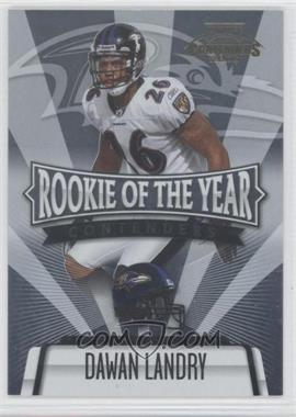 2006 Playoff Contenders - Rookie of the Year Contenders #ROY-30 - Dawan Landry /1000