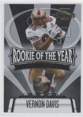 2006 Playoff Contenders - Rookie of the Year Contenders #ROY-9 - Vernon Davis /1000