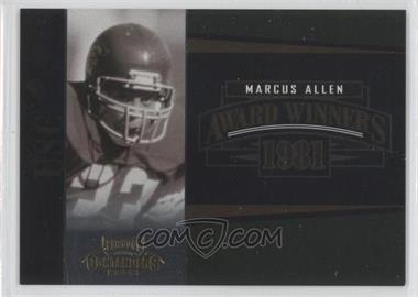 2006 Playoff Contenders [???] #AW-18 - Marcus Allen /1000