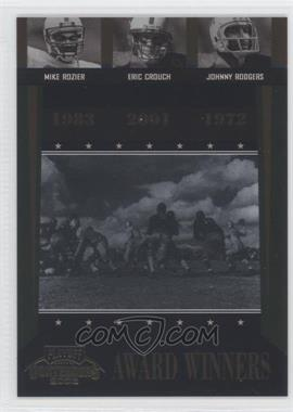 2006 Playoff Contenders [???] #AW-40 - Johnny Rodgers, Mike Rozier, Eric Crouch /1000