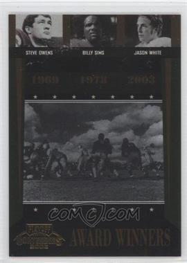2006 Playoff Contenders [???] #AW-42 - Jason Whittle, Billy Sims, Jason White /1000
