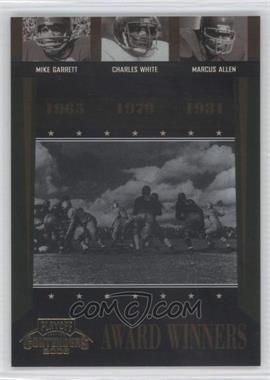 2006 Playoff Contenders [???] #AW-44 - Charlie Whitehurst, Marcus Allen, Charles White /1000