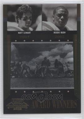 2006 Playoff Contenders [???] #AW-45 - Reggie Bush, Matt Leinart /1000