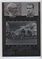 Johnny Lattner, Joey LaRocque, Jonathan Luigs, Paul Hornung, John Lujack /1000