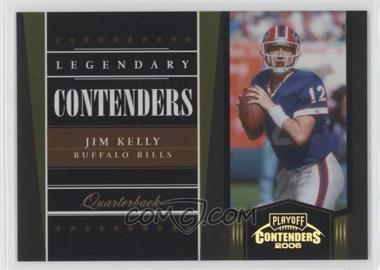 2006 Playoff Contenders [???] #LC-18 - Jim Kelly /250