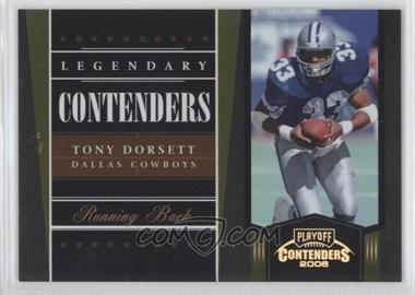 2006 Playoff Contenders [???] #LC-19 - Tony Dorsett /250