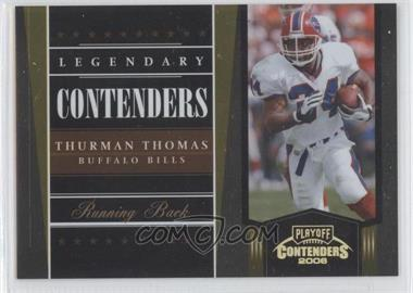 2006 Playoff Contenders [???] #LC-22 - Thurman Thomas /250