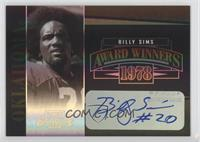 Billy Sims /200