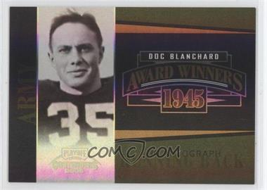2006 Playoff Contenders Award Winners Signatures [Autographed] #AW-37 - Doc Blanchard (No Autograph) /200