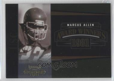 2006 Playoff Contenders Award Winners #AW-18 - Marcus Allen /1000
